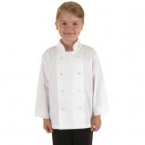 Whites Childrens Unisex Chef Jacket White L