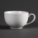 Olympia Whiteware Elegant Cups 230ml 8oz (Pack of 12)