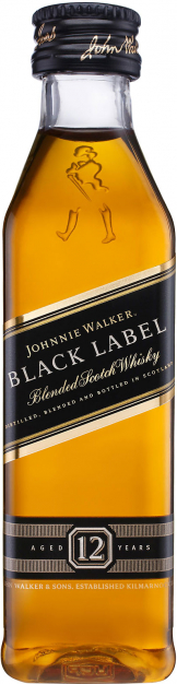 Johnnie Walker - Black Label 12 Year Old Miniature (12 x 5cl Miniatures)