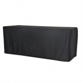 ZOWN XL180 Table Plain Cover Black