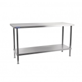 Holmes Self Assembly Stainless Steel Centre Table 1800mm