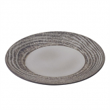 Revol Arborescence Round Plate Pepper Grey 265mm (Pack of 6)