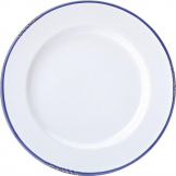 Utopia Avebury Blue Dinner Plate 260mm (Pack of 6)