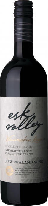 Esk Valley - Winemakers Reserve Merlot, Malbec, Cab Sauv 2016 (75cl Bottle)