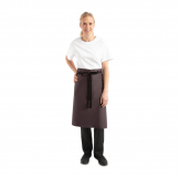 Chef Works Regular Bistro Apron Charcoal