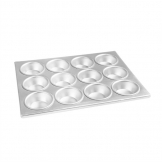 Vogue Aluminium Muffin Tray 12 Cup