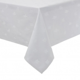 Luxor Tablecloth White 2300 x 2300mm