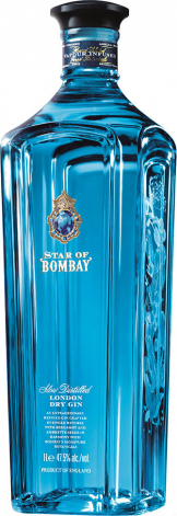 Bombay Sapphire - Star Of Bombay Gin (70cl Bottle)