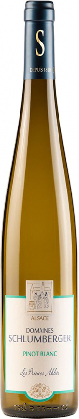 Domaines Schlumberger - Les Princes Abbes, Pinot Blanc 2017 (75cl Bottle)