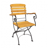 Arch Folding Arm Chair