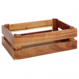 APS Superbox Buffet Crate Acacia GN1/4