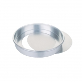 Aluminium Sandwich Cake Tin With Removable Base 200mm