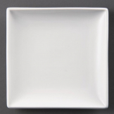 Olympia Whiteware Square Plates 240mm (Pack of 12)
