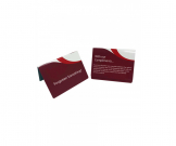 With Our Compliments... Guest Information Tent Notices - Multipack - GH018 - Multiple Colours