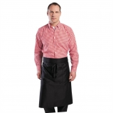 Chef Works Mens Gingham Shirt Red XL