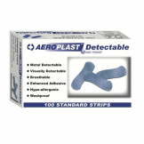 Blue Strip Detectable Plasters (Pack of 100)