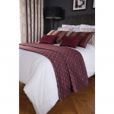 Luxury Deco Bed Runner Damson Shard Single