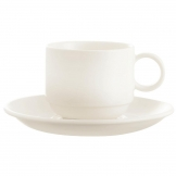 Arcoroc Zenix Large Double Well Saucers 150mm (Pack of 24)