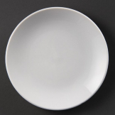 Olympia Whiteware Coupe Plates 150mm (Pack of 12)