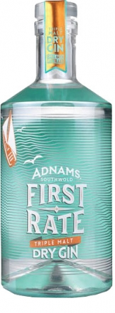 Adnams - First Rate Gin (70cl Bottle)