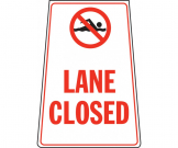 Lane Closed Portable Floor Stand - FL062