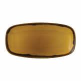 Dudson Harvest Dudson Mustard Chef's Oblong Plate 153mm (Pack of 12)