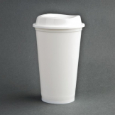 Olympia Polypropylene Reusable Coffee Cups 16oz (Pack of 25)