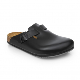 Birkenstock Super Grip Professional Boston Clog Black - Size 39