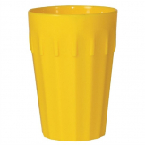 Kristallon Polycarbonate Tumblers Yellow 142ml (Pack of 12)