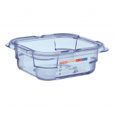 Aravan ABS Food Storage Container Blue GN 1/6 65mm
