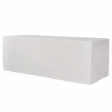 ZOWN XL240 Table Plain Cover White