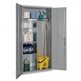 Janitorial Cupboard Grey