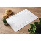 Eco Towel - White Bath MAT- 50x80cm