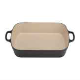 Le Creuset Cast Iron Roaster 33cm 4.9L Satin Black