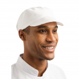 Whites Unisex Bakers Cap White
