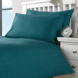 Essentials Opal Pillowcase Teal Housewife (Pair) (144 TC, Polycotton)