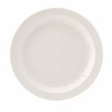 Utopia Pure White Narrow Rim Plates 167mm (Pack of 36)