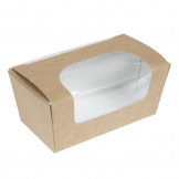 Colpac Compostable Kraft Small Cake Boxes With Window (Pack of 500)