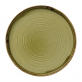 Dudson Harvest Green Walled Plate 260mm (Pack of 6)