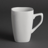 Olympia Rounded Square Mugs 284ml 10oz (Pack of 12)