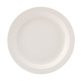 Utopia Pure White Narrow Rim Plates 254mm (Pack of 18)