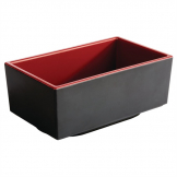 APS Asia+ Deep Bento Box Red 250mm