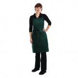 Chef Works Butchers Bib Apron Hunter Green