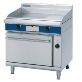 Blue Seal Evolution Chrome 1/3 Ribbed Griddle Convection Oven Electric 900mm EPE56