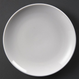 Olympia Whiteware Coupe Plates 230mm (Pack of 12)