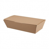 Colpac Compostable Kraft Food Boxes 250mm (Pack of 150)