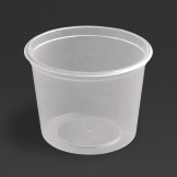 Fiesta Plastic Microwavable Deli Pots 150ml / 5.25oz (Pack of 100)