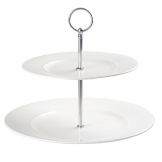 Churchill Alchemy 2 Tier Plate Tower (Pack of 2)