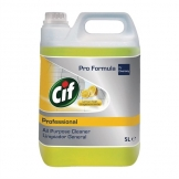 Cif Pro Formula Lemon All-Purpose Cleaner Concentrate 5Ltr (2 Pack)