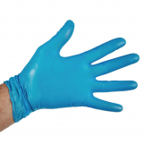 Vogue Powder Free Vinyl Gloves L (Pack of 100)